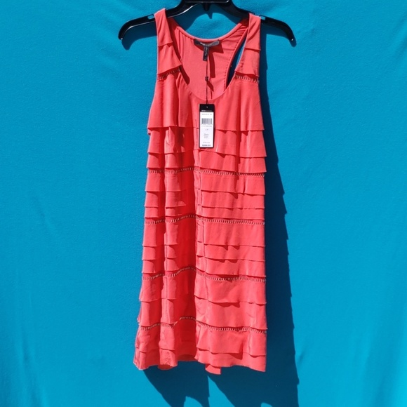 BCBGMaxAzria Dresses & Skirts - BCBGMAXAZRIA 100% Silk Sleeveless Dress Size Small